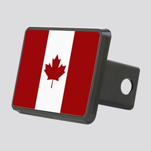Canada: Canadian Flag (Red Rectangular Hitch Cover