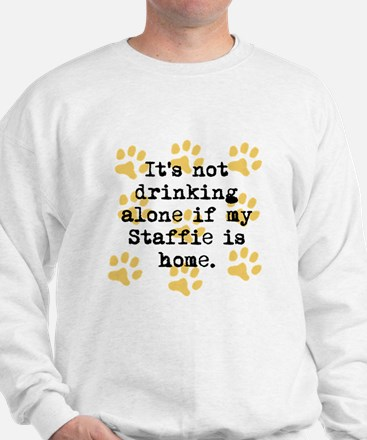 If My Staffie Is Home Jumper