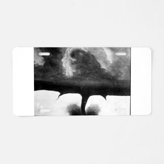Oldest Tornado photo 1884 South Dakota Aluminum Li