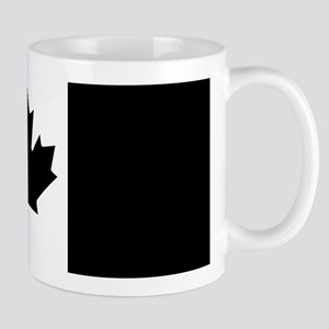 Canada: Black Military Flag Mug