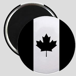 Canada: Black Military Flag Magnet