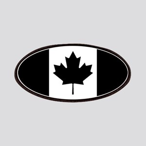 Canada: Black Military Flag Patch