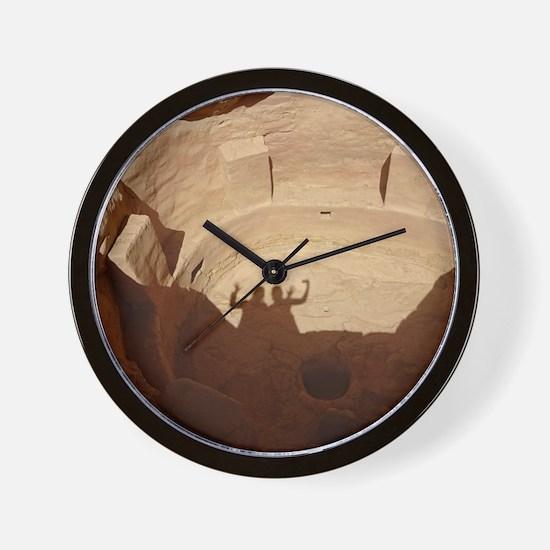 Funny Ancient sites Wall Clock
