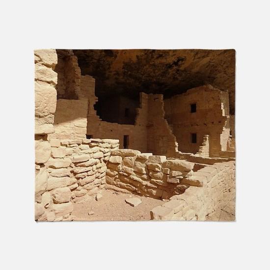 Unique Ancient sites Throw Blanket