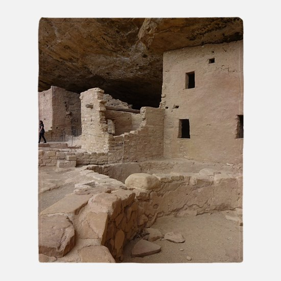 Cute Ancient sites Throw Blanket