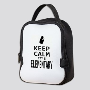 K.C. it's ELEMENTARY Neoprene Lunch Bag