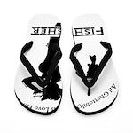 Ghettobilly Girl Flip Flops