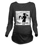 Ghettobilly Girl Long Sleeve Maternity T-Shirt