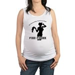Ghettobilly Girl Maternity Tank Top