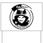 Fish Face Yard Sign