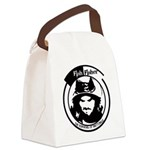 Fish Face Canvas Lunch Bag