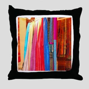 Thai Silk Throw Pillow