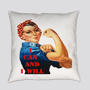 I can and I will Everyday Pillow