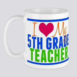 5th Grade Teacher Mug
