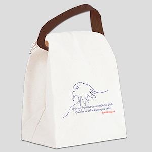 Eagle Canvas Lunch Bag