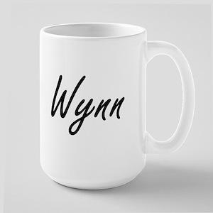 Wynn surname artistic design Mugs
