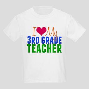 3rd Grade Teacher Kids Light T-Shirt
