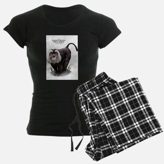 Lion-Tailed Macaque Pajamas