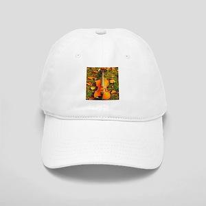 romantic fall leaves violin Cap