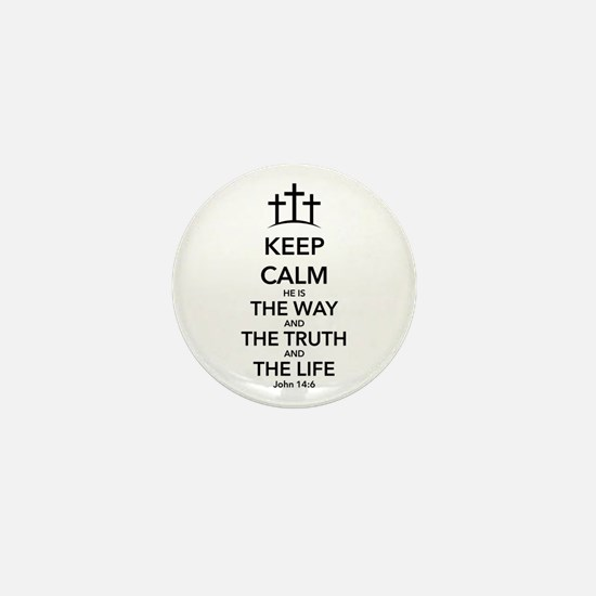 Way Truth Life Mini Button