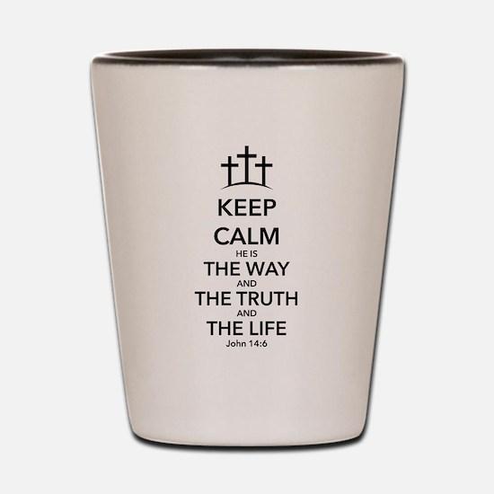 Way Truth Life Shot Glass