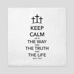 Way Truth Life Queen Duvet