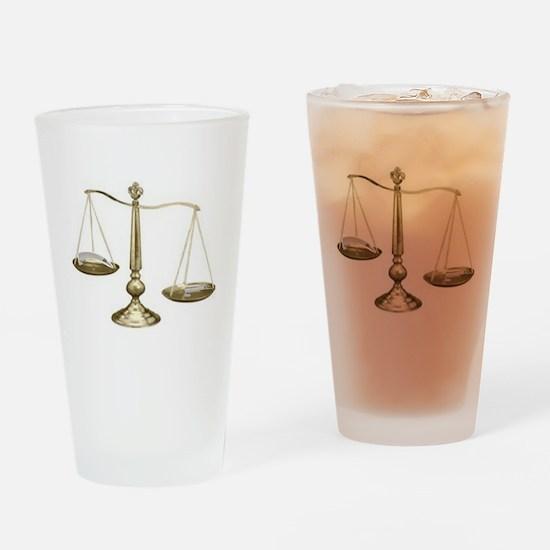 Mac vs Miller Drinking Glass