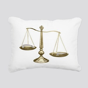 Mac vs Miller Rectangular Canvas Pillow