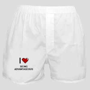 I Love Being Advantageous Digitial De Boxer Shorts
