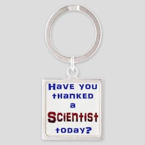 Thank Scientist Keychains