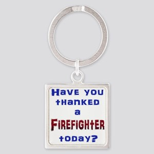 Thank Firefighter Keychains
