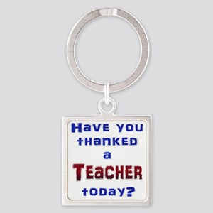 Thank Teacher Keychains