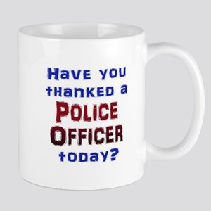 Thank Police Mugs