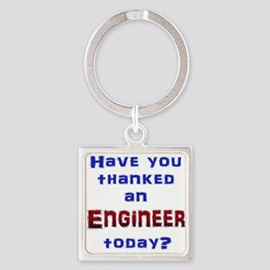Thank Engineer Keychains