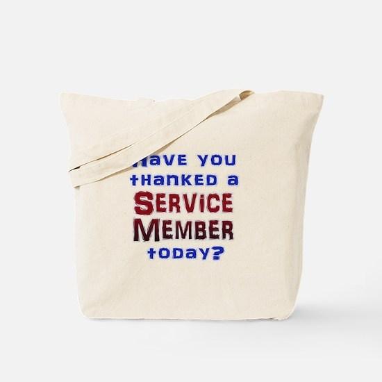 Thank Service Tote Bag