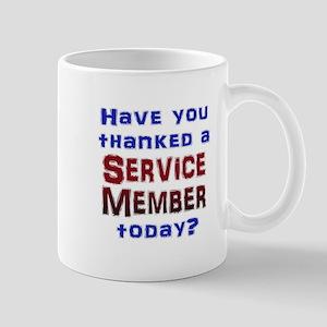 Thank Service Mugs
