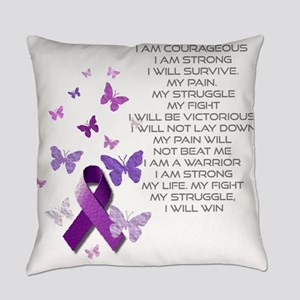 I am Strong Everyday Pillow