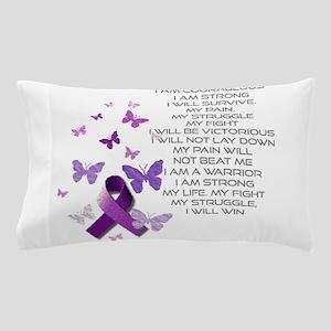 I am Strong Pillow Case