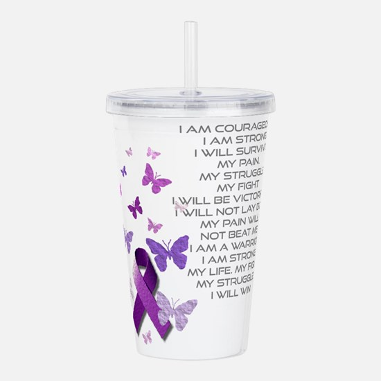 I am Strong Acrylic Double-wall Tumbler