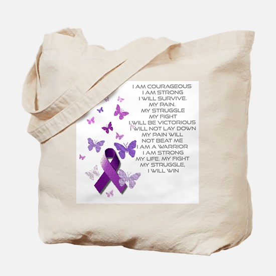 I am Strong Tote Bag
