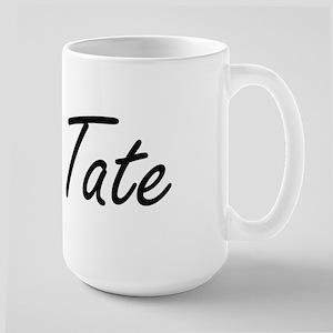 Tate surname artistic design Mugs