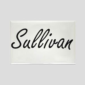 Sullivan surname artistic design Magnets