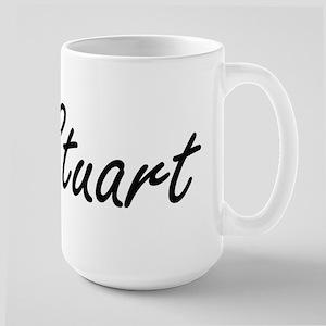Stuart surname artistic design Mugs