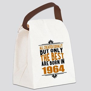 The Best Are Born In 1964 Canvas Lunch Bag