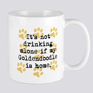 If My Goldendoodle Is Home Mugs