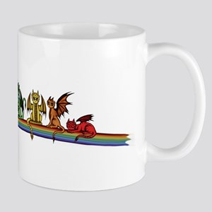 Rainbow Dragons Mugs