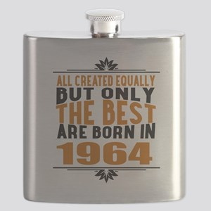 The Best Are Born In 1964 Flask