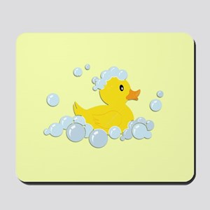 Yellow Rubber Duck Mousepad