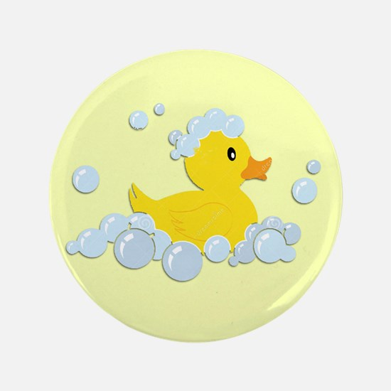 Yellow Rubber Duck Button