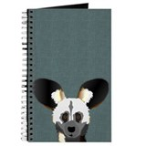African wild dog Journals & Spiral Notebooks